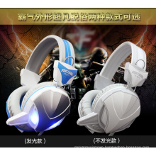 CE, RoHS Certificate Wired Game Computer Headset with LED