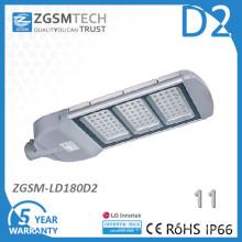 180W Einscheibensicherheitsglas IP66 Solar LED Straßenlaterne
