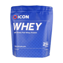 Nutrition Whey Protein Powder High Barrier Aluminium Foil Stand Bag