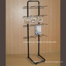Single Sided Floor Metal Display Rack (PHY374)