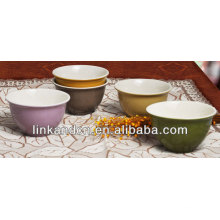 KC-04016ice cream bowls,rice/soup bowl,beautiful style solid bowls ceramic