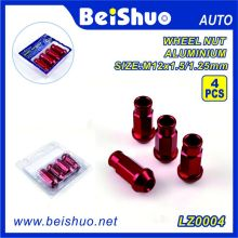 Manufacturer Auto Parts Bolts Wheel Lock Set with Key