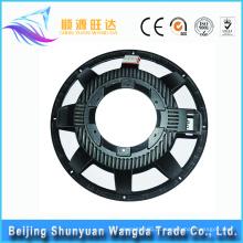Liga de alumínio fundição 12 polegadas rodas de liga de carro auto peças de reposição volante de carro