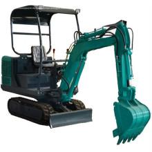 Excavadora hidráulica 1T 1.5T diesel motor
