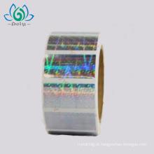 Personalizado anti-falsificação segurança barato 3D etiqueta da etiqueta do holograma
