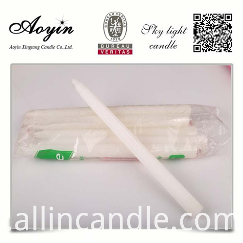CHEAP WHITE CANDLE098