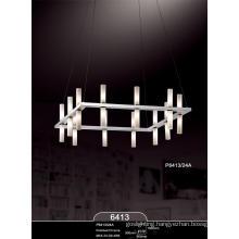 Elegant Modern Glass Project Pendant Lamp (P6413-24A)