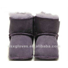purple baby winter shoes