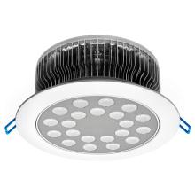 Aleta 21W Luz de techo redonda LED CE RoHS