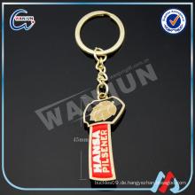 Werbe-Schlüsselanhänger Aluminium-Legierung Flasche Opener Keychain