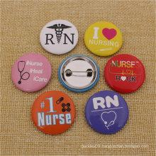 Customize Promotional Metal Souvenir Crafts Pin Tin Button Badge