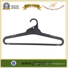 Высокое качество Верхний поставщик Черный пластиковый вешалка для одежды для рубашки