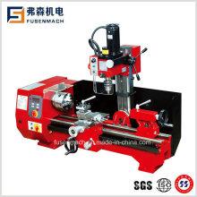 Multi-Purpose Milling Lathe Drilling Milling for Metal Wood Plastic Material (FS-SM6)