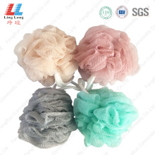 Wavy mesh sponge absorbent bath ball