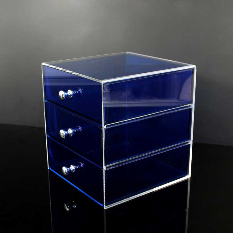 3 Tier Acrylic Makeup Case Organizer