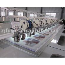 Máquina de bordar de cabeça múltipla Sequins de quatro sequas empilhadas (FW915