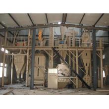 Máquina de alimentación de 3-100t / H, procesamiento de alimentación animal