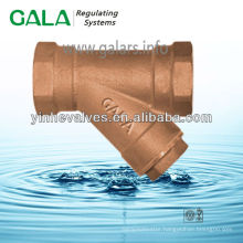 magnetic brass y strainer