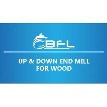BFL компрессионный резак для деревообработки, верхние и нижние концевые фрезы для дерева
