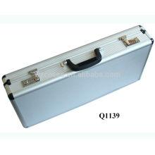 caja pistola escopeta nueva llegada de aluminio con espuma en el interior de China fabricante