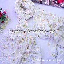 winter scarf acrylic printed