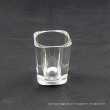 2oz Square Shot Glass (impressão de logotipo disponível)