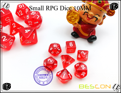 Small RPG Dice 10MM-5