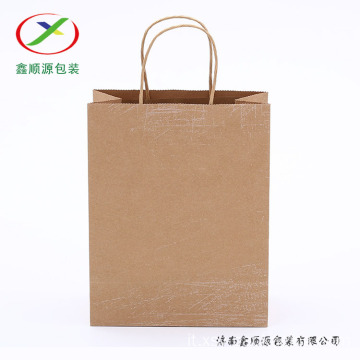 shopping bag di carta kraft