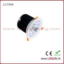Ce & RoHS Aprovado Novo Produto COB 40W Downlight com Cor Branca LC7940