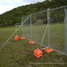 Hot sale portable interlock security temporary fencing for backyard panel