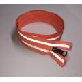 poliéster 100% eco-friendly costurou na fita reflexiva da segurança colorida da roupa