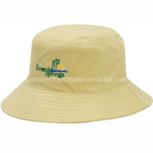 Casual Durable Polyester Twill Fishing Bucket Cap Hat (TRBT001B)