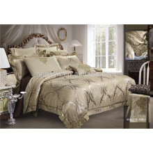 High Quality Poly/Cotton Jacquard Embroidered Duvet Cover Bedding Set