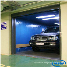 Stainless Steel Machine Room Electric Garage Car Elevator