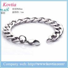 Nouveaux produits 2016 titane acier hommes bracelet bracelet charme nouveau bracelet
