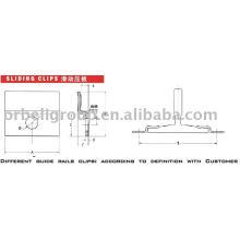 Guide d'ascenseur Rail clips