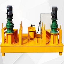 Automatic hydraulic profile bending machine