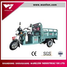 A carga 650W usou o triciclo elétrico de três veículos com rodas para o transporte