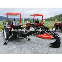 Excavatrice arrière pour des tracteurs de Foton et de LZ et de TS et de Jinma