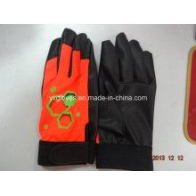 Guante de la PU - guantes de la seguridad - guantes del jardín - guante protegido del guante del trabajo