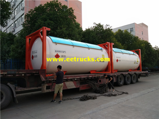 52000L 40feet LPG Tank Containers