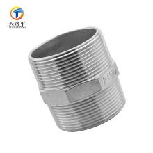 Accesorios de tubería recta de alta calidad tornillo de rosca doble 2-150