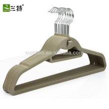 Customized clothes hanger velvet suit hanger