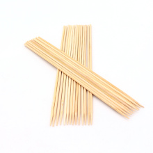BBQ Roasting Wholesale Round Bamboo Natural BBQ Grill Bambooo Skewer Tools Outdoor Barbeque