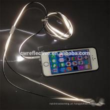 Novos produtos refletivos na fabricação de linha de fones de ouvido
