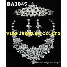 Collares de la joyería de la boda de la piedra del diamante