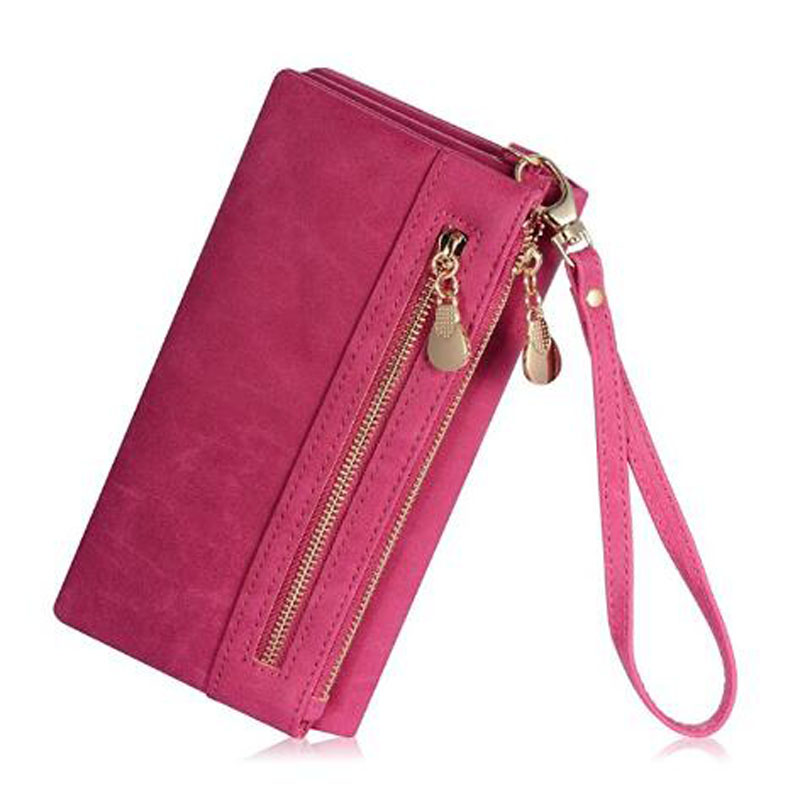 Pink Women's PU Wallet