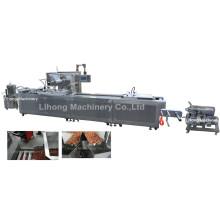 Dlz-460 Vollautomatische Vakuumverpackungsmaschine für Meeresfrüchte mit kontinuierlicher Dehnung