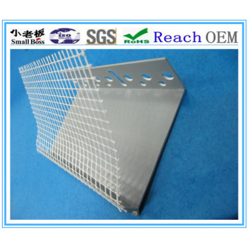 High Quality Plastic Angles with Fiberglass Mesh
