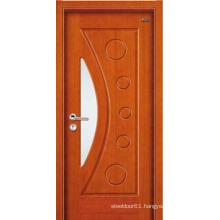 Wood door flat teak wood main door designs wood door 1 panel